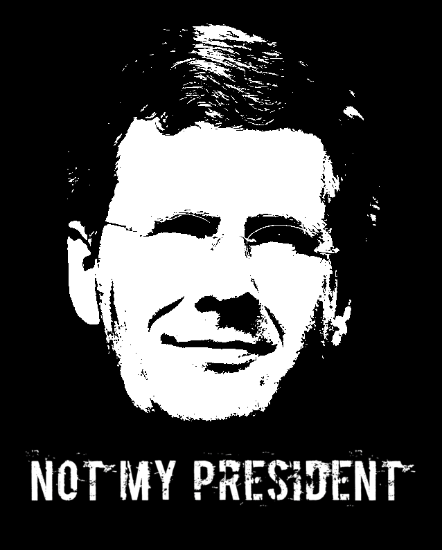 Wulff - NOT MY PRESIDENT